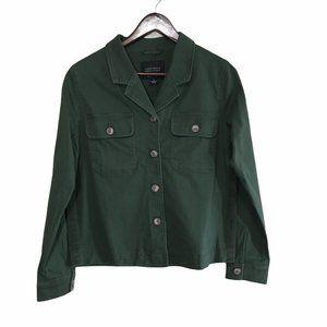 Sanctuary Army Camo Green Military Jacket Medium